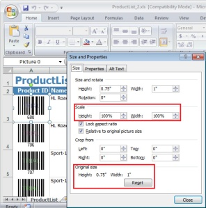 Image size issue solved when exporting a RDL report to Excel